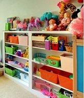 shelf of toy