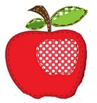 sewn apple craft