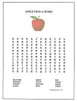 apple word search