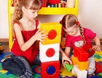 girls in playroo
