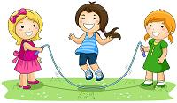 kids jumping rope