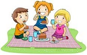 kids on picnic