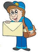 mailman with letter