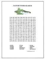 nature word search