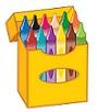 box of crayon
