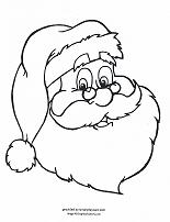 or make your day even easier with christmas coloring pages heres a few santa claus pages to color