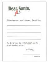 printable dear santa letter template .
