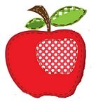 sewn apple craft
