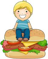boy on sandwic