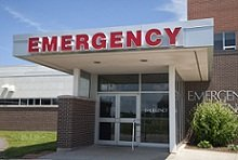 emergency room entranc