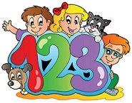 number kids