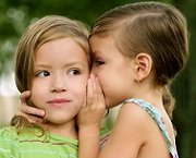 girls telling secre