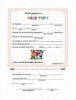 Daycare Field Trip Form